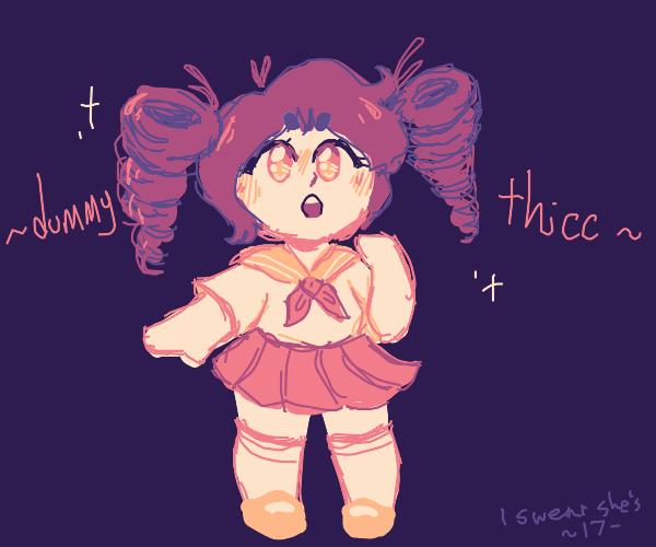 Thicc anime girl