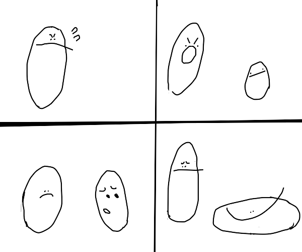 Simplified Loss Comic But With Faces