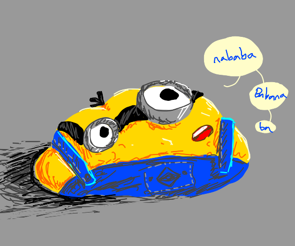 Messed up minion