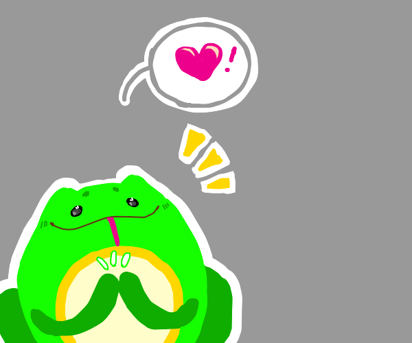 Wholesome Frog applauds your performance