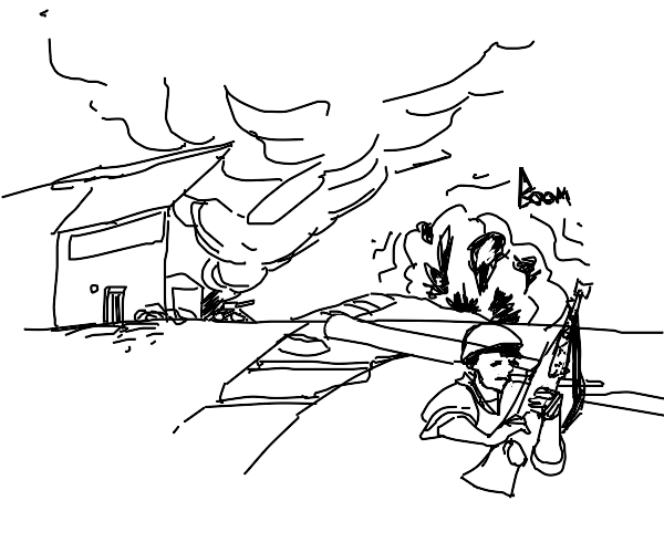 The battle of Saigon