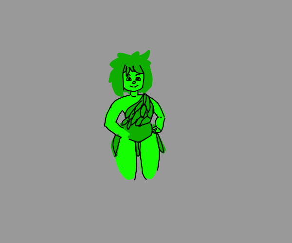 The green giant but female