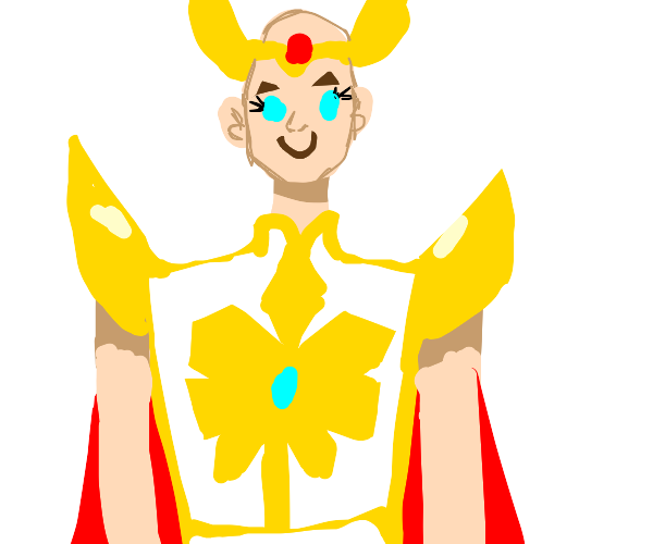 no hair she ra