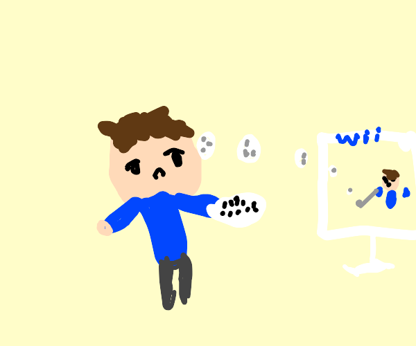Will uses a Wii