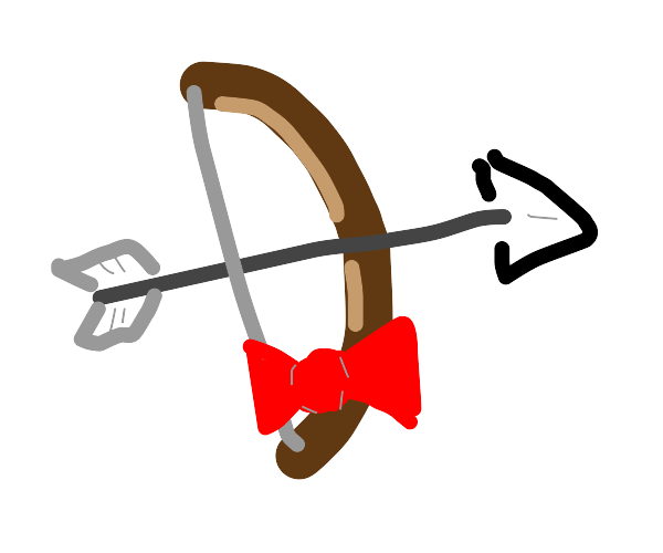 bow and arrow has a bow