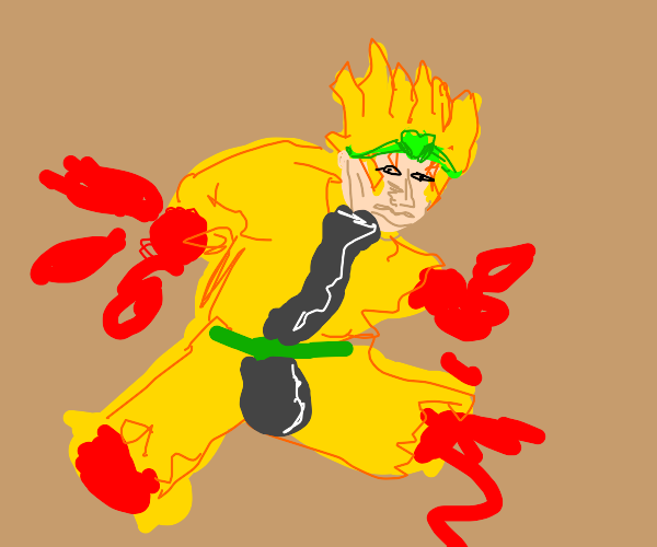 Dio has no limbs