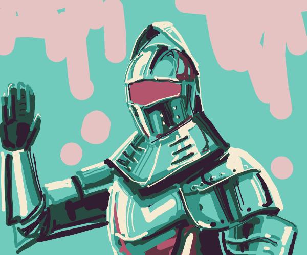 Knight says hello