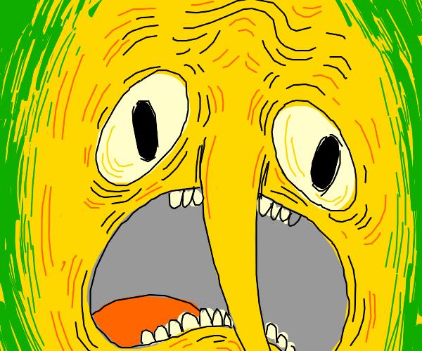 Lemon being weird