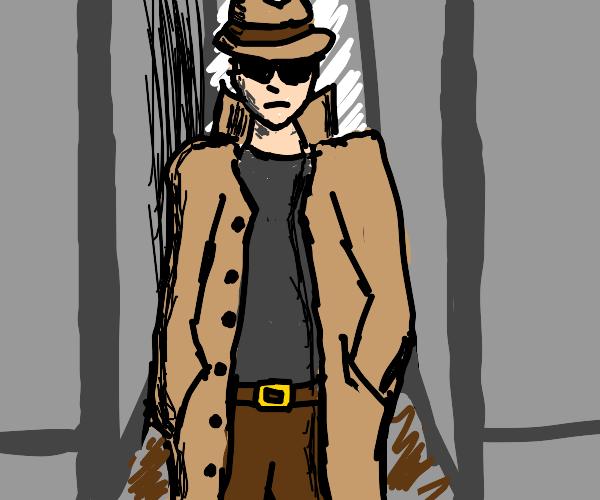 shady detective