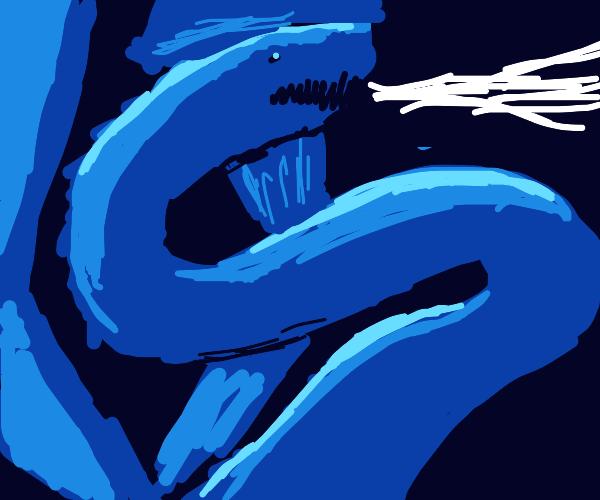 Shiny Ice Dragon