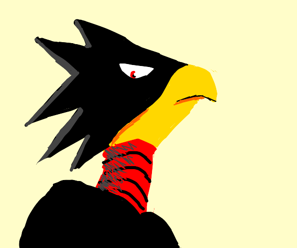 That one crow with a stand from My Hero Aca