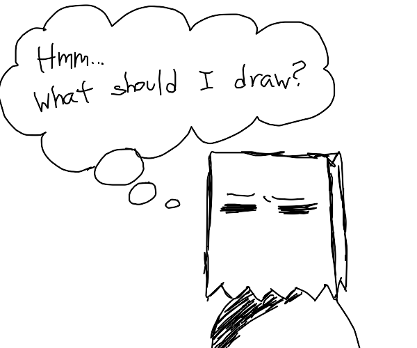 Drawception artist does not know what to draw
