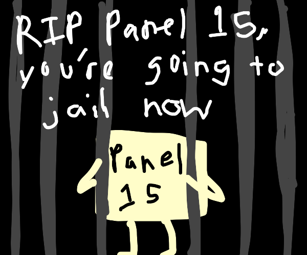 Panel 15 is a war crime