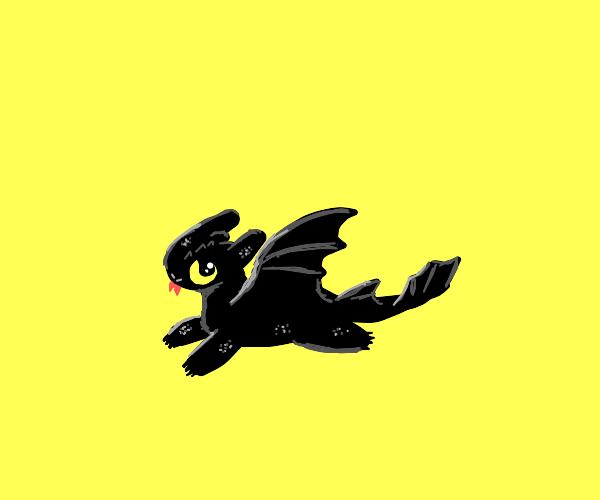 Cute smol dragon