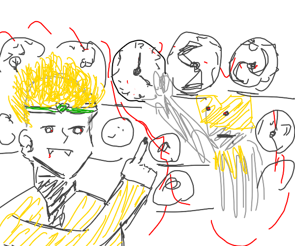 DIO shopping for a new clock.