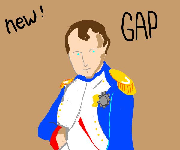 GAP clothing, new Napoleon line