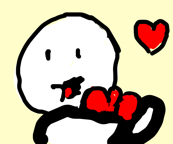 TheOdd1sOut holds a lot of love in his arms