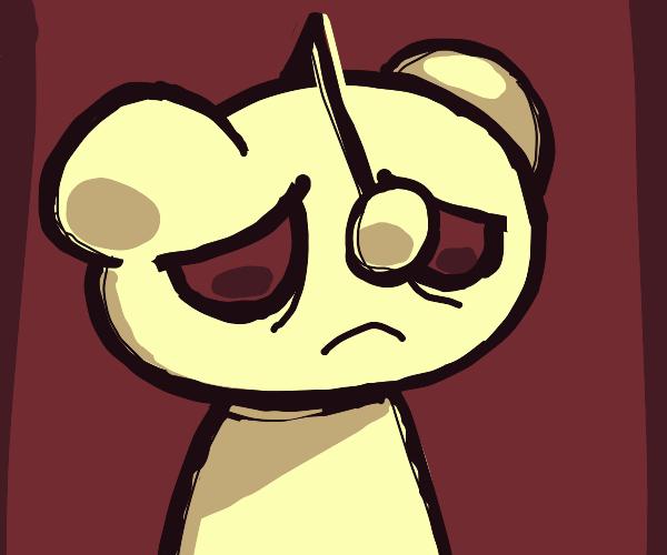 HOLY SH!T the reddit logo is depressed