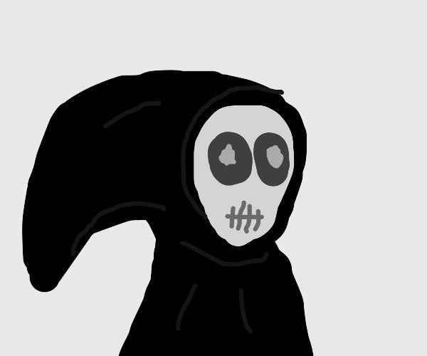 Goofy grim reaper