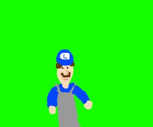 Blue Luigi