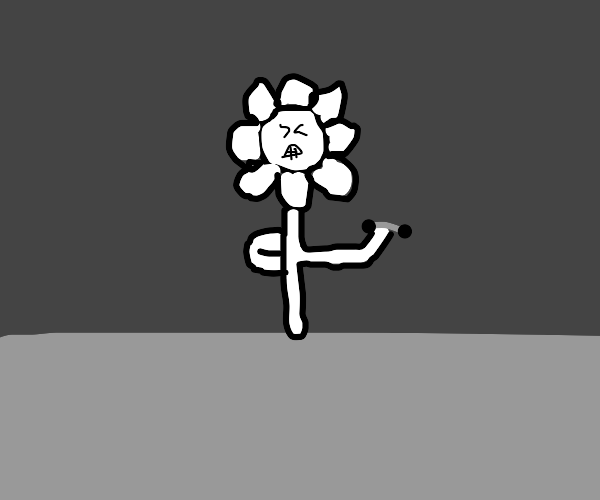 Ghost flower lifting weights
