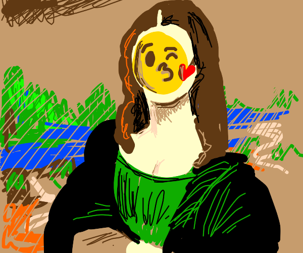 Da Vinci emoji artist