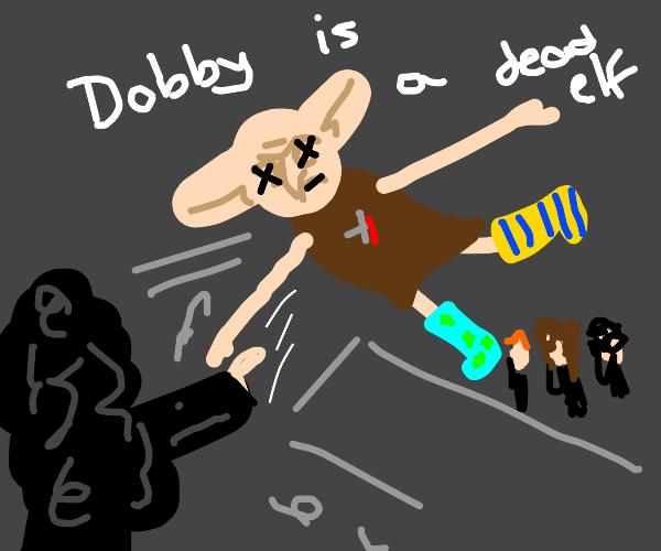Dobby dies in Harry Potter 7