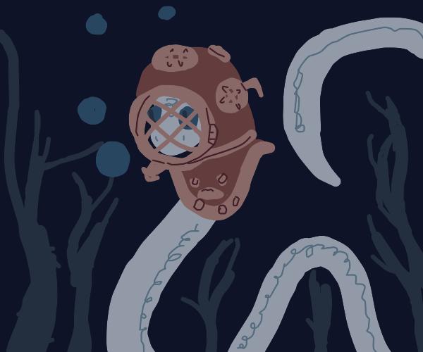 Diver snake