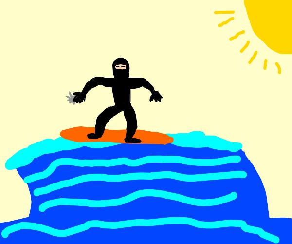 ninja surfing