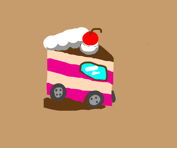 the car...is CAKE
