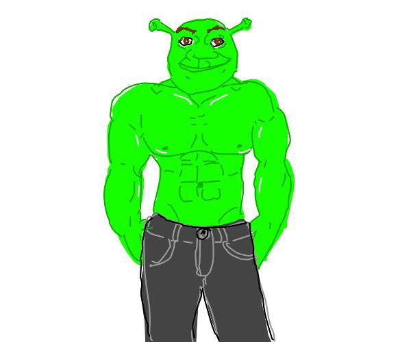 Shrek gets fit
