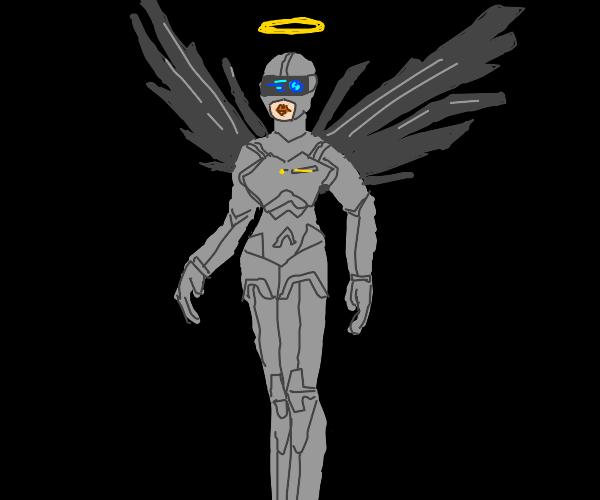 Cyberpunk Angel