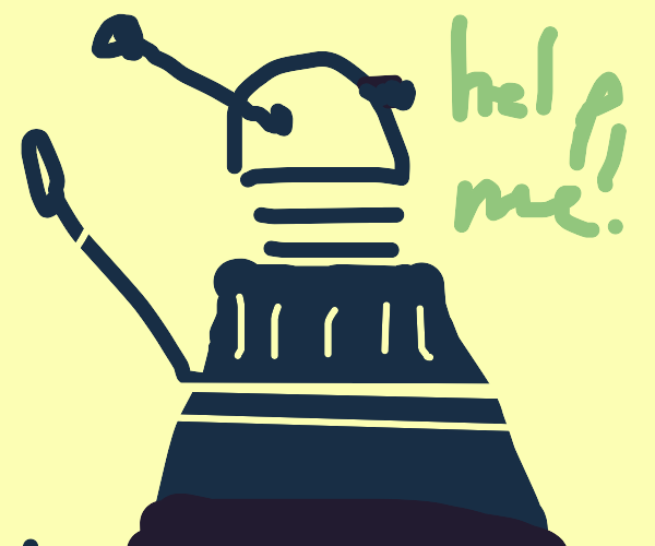 Dr. Who robot friend wants your help