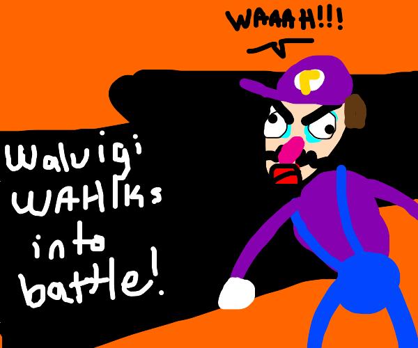 Waluigi finally makes it to Smash!!