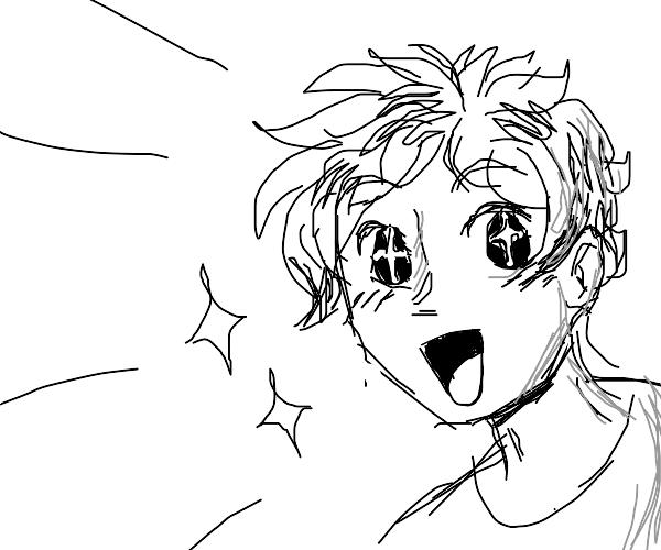 Random dude weird anime thing
