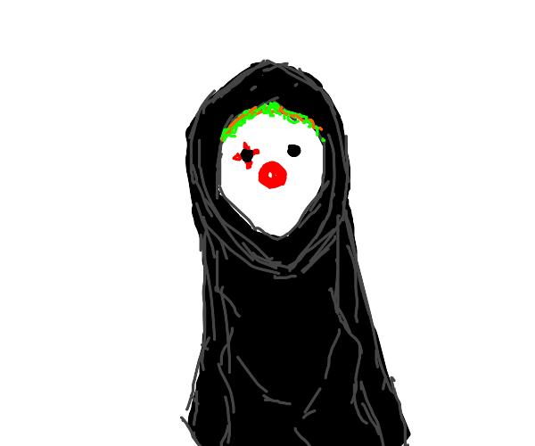 The grim reaper is a clown!
