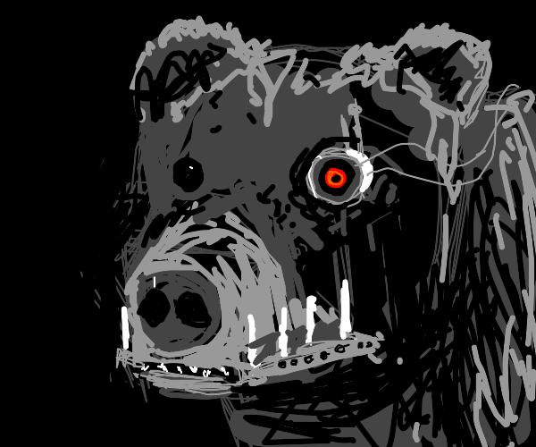 Cyborg Bear!