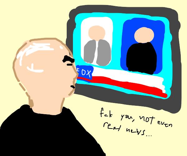 Seth Everman hates Fox News