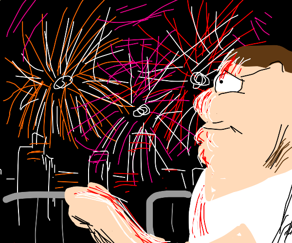 peter griffin likes fireworks
