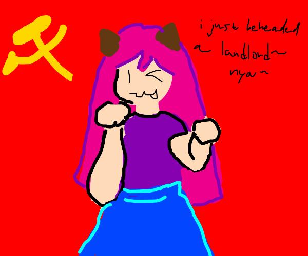 Communist Catgirl