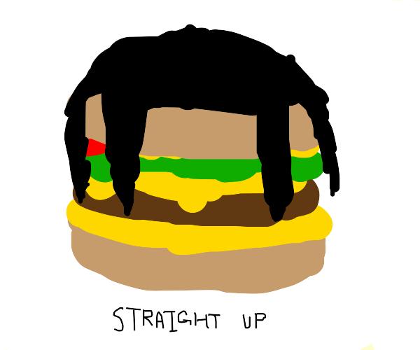 travis scott burger