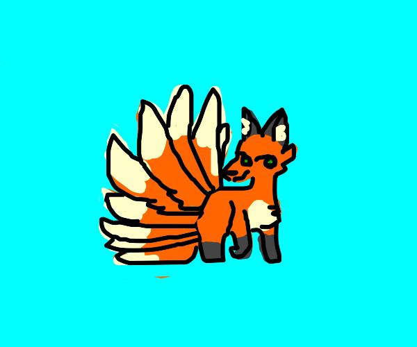 ninetailed fox