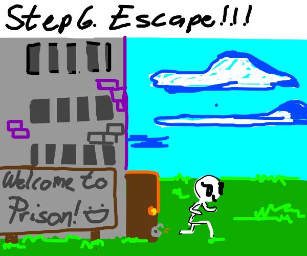 Step 5: Plan prison Break.