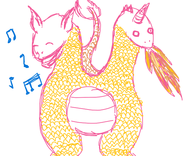 2 headed singing dragon