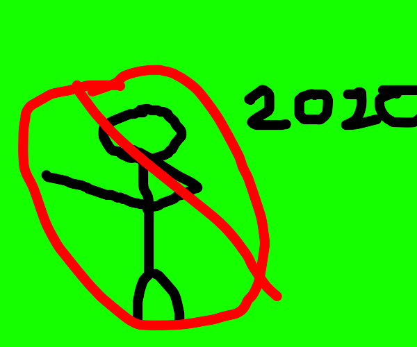 Don't dab when it's nearly 2020!!!
