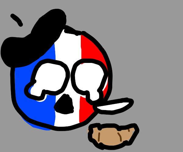 on no i dropped le croissant