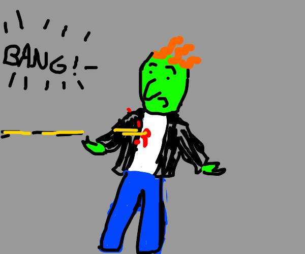 The bully from Doug got shot