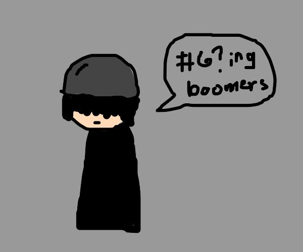 Emo kids hate boomers