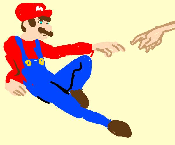 Mario the artist