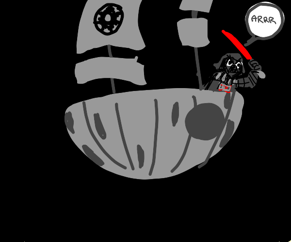 The Death Star But Its a Pirate Ship
